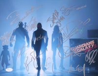 """Guardians of the Galaxy Vol.2"" 11x14 Photo Cast-Signed by (13) with Chris Pratt, Stan Lee, Chris Sullivan, Kurt Russell (JSA Hologram) at PristineAuction.com"
