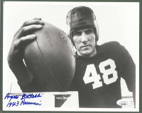 "Angelo Bertelli Signed Notre Dame Fighting Irish 8x10 Photo Inscribed ""1943 Heisman"" (JSA COA) at PristineAuction.com"