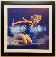 Taylor Swift Signed 22x22 Custom Framed Photo (JSA LOA) at PristineAuction.com