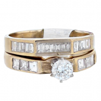 1.63ct Diamond Engagement Ring from Kay Jewelers 14kt Yellow Gold (AIG Appraisal) at PristineAuction.com