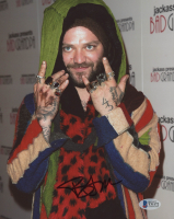 Bam Margera Signed 8x10 Photo (Beckett COA) at PristineAuction.com