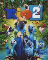 """George Lopez & Jemaine Clement Signed """"Rio 2"""" 8x10 Photo (Beckett COA) at PristineAuction.com"""