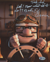 "Ed Asner Signed ""Up"" 8x10 Photo with Extensive Inscription (Beckett COA) at PristineAuction.com"
