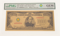 "1934 $10,000 Ten Thousand Dollar ""Smithsonian Edition"" Gold Certificate (PMG GEM Uncirculated) at PristineAuction.com"