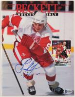 Sergei Fedorov Signed 1994 Beckett Hockey Monthly Magazine (Beckett COA) at PristineAuction.com
