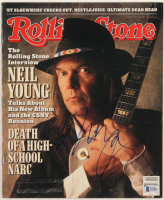 Neil Young Signed 1988 Rolling Stone Magazine (Beckett COA) at PristineAuction.com