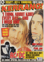 Dave Grohl Signed 1995 Kerrang! Magazine (Beckett COA) at PristineAuction.com
