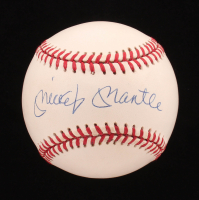 Mickey Mantle Signed OAL Baseball (UDA COA) at PristineAuction.com