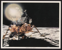 Edgar Mitchell Signed 8x10 Photo (Beckett COA) at PristineAuction.com