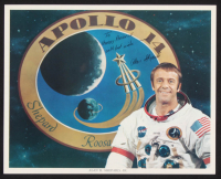 """Alan Shepard Signed 8x10 Photo Inscribed """"With Best Wishes"""" (Beckett LOA) at PristineAuction.com"""