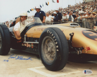 "Paul ""Go"" Goldsmith Signed NASCAR 8x10 Photo Inscribed ""1958"" (Beckett COA) at PristineAuction.com"
