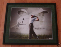 "Tiger Woods Signed ""'07 FedEx Cup"" 16x20 Custom Framed LE Photo (UDA COA) at PristineAuction.com"