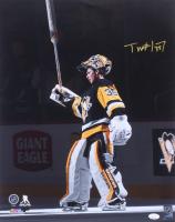 Tristan Jarry Signed Penguins 16x20 Photo (JSA COA) at PristineAuction.com