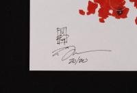 "Tom Hodges - Gamora - Marvel Comics - Signed 11"" x 17"" Lithograph LE #/20 (PA COA) at PristineAuction.com"
