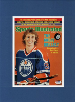 Wayne Gretzky Signed 12x16 Custom Matted Photo Display (PSA COA) at PristineAuction.com