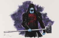 "Tom Hodges - Ronan the Accuser - Marvel Comics - Signed 11"" x 17"" Lithograph LE #/20 (PA COA) at PristineAuction.com"
