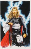"Tom Hodges - Thor - Marvel Comics - Signed 11"" x 17"" Lithograph (PA COA) at PristineAuction.com"