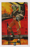 "Tom Hodges - Hera Syndulla - ""Star Wars"" - Signed 11"" x 17"" Lithograph LE #/25 (PA COA) at PristineAuction.com"
