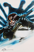 """Tom Hodges - MacReady - Kurt Russell - """"The Thing"""" - Signed 11"""" x 17"""" Lithograph (PA COA) at PristineAuction.com"""