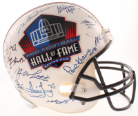 Pro Football Hall of Fame Full-Size Helmet Signed by (29) with Y. A. Tittle, Bob Griese, Paul Krause, Bob Lilly With Multiple Inscriptions (JSA ALOA) at PristineAuction.com