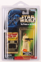 Carrie Fisher Signed Star Wars The Power of The Forice Princess Leia Action Figure (Beckett LOA) at PristineAuction.com
