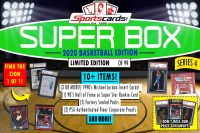 "Sportscards.com ""SUPER BOX"" 10+ HITS PER BOX!! BASKETBALL Edition Mystery Box - Series 4 at PristineAuction.com"