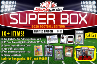 "Sportscards.com ""SUPER BOX"" 10+ HITS PER BOX!! FOOTBALL Edition Mystery Box - Series 4 at PristineAuction.com"