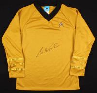 William Shatner Signed Prop Replica Uniform Shirt (Schwartz COA) at PristineAuction.com