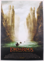 """""""Lord of the Rings - The Fellowship of the Ring"""" 28.75x39.75 Poster on Cavas at PristineAuction.com"""