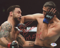 "Brian Ortega Signed UFC 8x10 Photo Inscribed ""T-City"" (PSA COA) at PristineAuction.com"