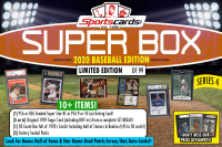 "Sportscards.com ""SUPER BOX"" 10+ HITS PER BOX!! BASEBALL Edition Mystery Box - Series 4 at PristineAuction.com"