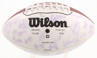 2003 Saints Logo Football Team-Signed by (51) with Steve Gleason, Fred McAfree, Wayne Grandy, Fred Thomas (JSA Hologram) at PristineAuction.com