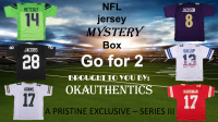 OKAUTHENTICS NFL Jersey Go for 2 Mystery Box Series III at PristineAuction.com