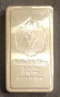 10 Troy Oz .999 Scottsdale Silver Fine Silver Bullion Bar at PristineAuction.com