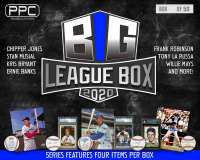 Press Pass Collectibles 2020 Big League MLB Mystery Box –Series 2 (Limited to 50) at PristineAuction.com
