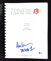 "Ari Lehman Signed ""Friday the 13th"" Movie Script Inscribed ""Jason 1"" (Beckett COA) at PristineAuction.com"
