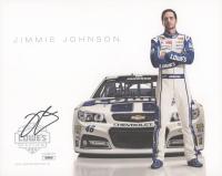 Jimmie Johnson Signed 8x10 Photo (JSA COA) at PristineAuction.com
