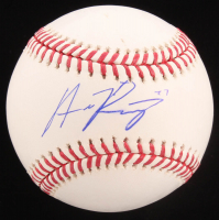 Austin Riley Signed OML Baseball (Beckett Hologram) at PristineAuction.com