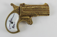 "Val Kilmer Signed ""Tombstone"" Replica Pistol Inscribed ""Doc"" (Beckett COA) at PristineAuction.com"
