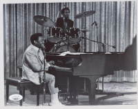 Fats Domino Signed 8x10 Photo (JSA COA) at PristineAuction.com