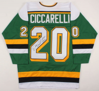 "Dino Ciccarelli Signed Jersey Inscribed ""H.O.F 2010"" (TSE COA) at PristineAuction.com"