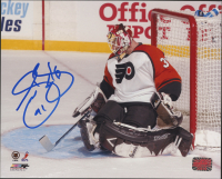 Sean Burke Signed Flyers 8x10 Photo (YSMS COA) at PristineAuction.com
