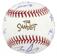 """""""The Sandlot"""" OML Baseball Cast-Signed By (6) with Tom Guiry, Chauncey Leopardi, Marty York, Victor Di Mattia with Multiple Character Inscriptions (Beckett COA) at PristineAuction.com"""