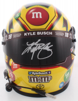 Kyle Busch Signed NASCAR M&M Full-Size Helmet (PA COA) (Imperfect) at PristineAuction.com