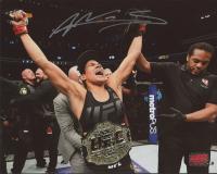 Amanda Nunes Signed UFC 8x10 Photo (Your Sports Memorabilia Store COA) at PristineAuction.com