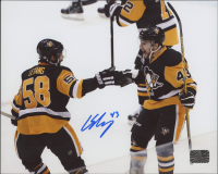 Conor Sheary Signed Penguins 8x10 Photo (Sheary COA) at PristineAuction.com