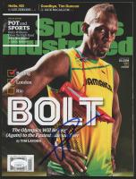 Usain Bolt Signed 2016 Sports Illustrated Magazine (JSA COA) at PristineAuction.com