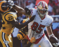 George Kittle Signed 49ers 8x10 Photo (Beckett COA) at PristineAuction.com