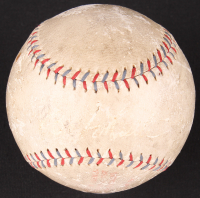 New York Yankees OAL Baseball Signed By (4) With Babe Ruth, Lou Gehrig, Tony Lazzeri & Benny Bengough (PSA LOA) at PristineAuction.com