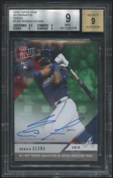Ronald Acuna Jr. 2018 Topps Now Autographs Green #125A (BGS 9) at PristineAuction.com